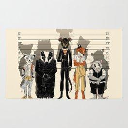 Unusual Suspects Rug