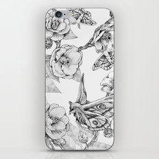Moths & Camellias iPhone Skin