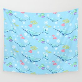 Narwhal and Friends Wall Tapestry