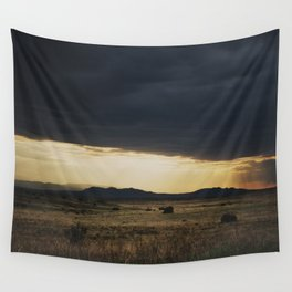 a new mexico storm ... Wall Tapestry