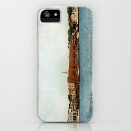 Wilmington, NC on the Cape Fear River iPhone Case