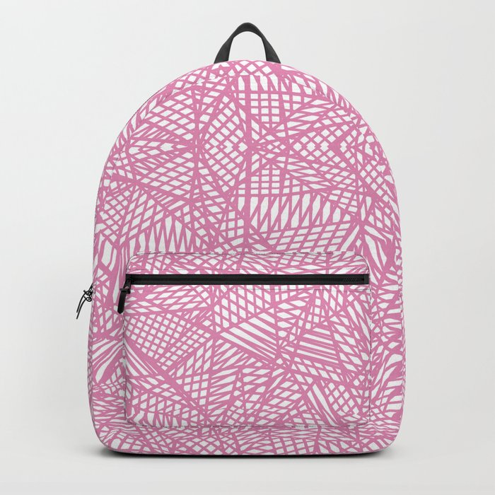 Ab Lace Pink Backpack