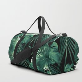 Tropical Jungle Leaves Dream #6 #tropical #decor #art #society6 Duffle Bag