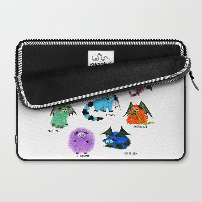 Eight Little Iggys Laptop Sleeve