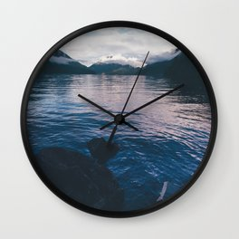 Lake in the Sky II Wall Clock