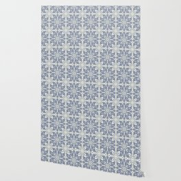 Florence - Light Blue Wallpaper