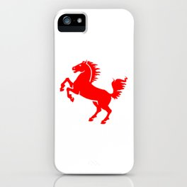 A Blazing Horse iPhone Case