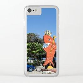 El Rey del Pescado Frito Clear iPhone Case