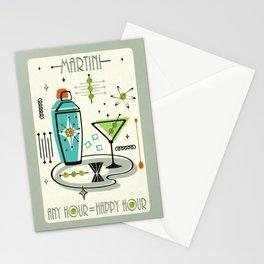 Atomic Martini ©studioxtine Stationery Cards
