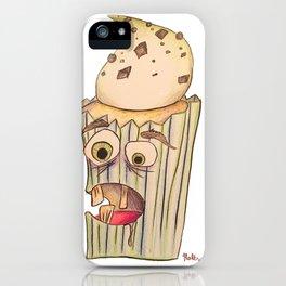 A cupcake named Igor iPhone Case