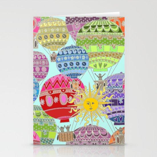 Candy Sky Stationery Cards