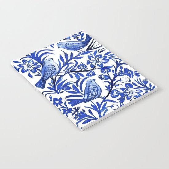 Blue Birds Notebook