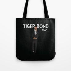 Tiger Bond Tote Bag