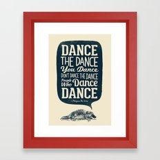 Platypus The Wise Framed Art Print