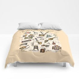 Instruments A to Z Comforters