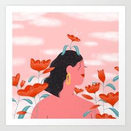 Growth Babe Art Print