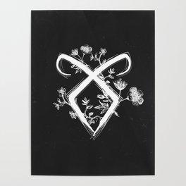Angelic Rune Poster
