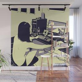 Gamer girl Wall Mural
