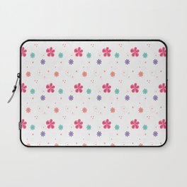 Flowers in white Laptop Sleeve