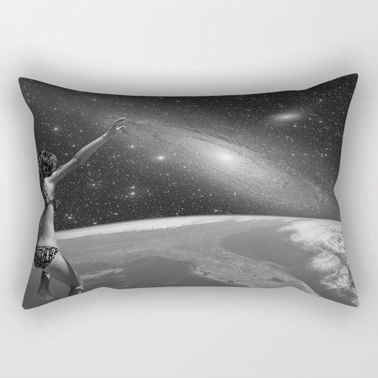 Jump into Nothing Rectangular Pillow