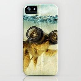 Fisheye lens (Goldfish) iPhone Case