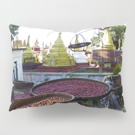 View from the Nunnery, Myanmar Pillow Sham