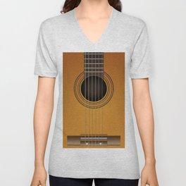 classical guitar music Unisex V-Neck
