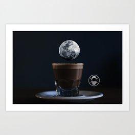 Luna Cafe Art Print