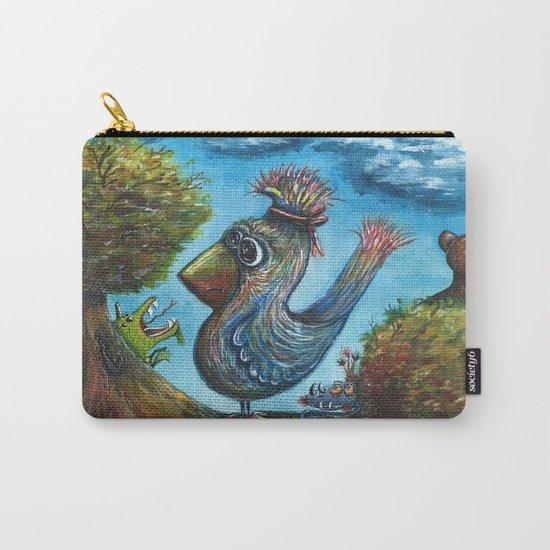 Strange Bird in a Strange Land Carry-All Pouch