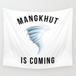 MANGKHUT IS COMING Wall Tapestry