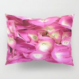 Perky Pink Hydrangea Pillow Sham