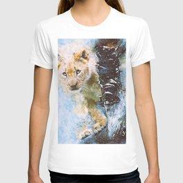 Lion Cub Wild T-shirt