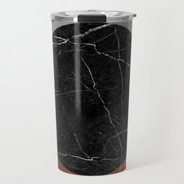 Abstract - Marble, Concrete, Rusted Iron Travel Mug