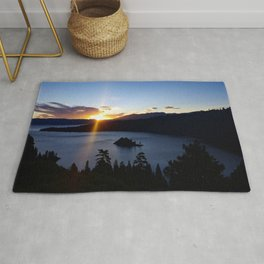 Sunrise at Emerald Bay Rug