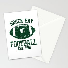 Green Bay Football Fan Gift Present Idea Stationery Cards