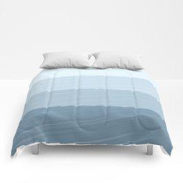 Blue Bars Comforters