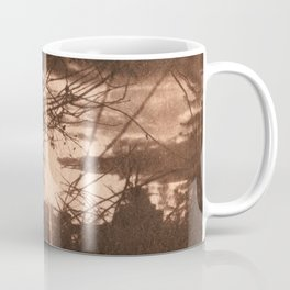 Sunset over the Mill_brown vintage style Coffee Mug