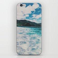 Hawaii Pacific Ocean Surreal Coast (Painting) iPhone Skin