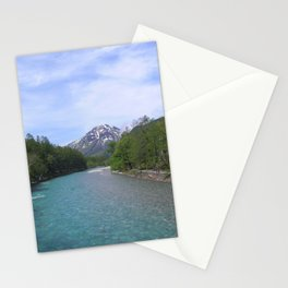 Clear Blue Waters of Kamikochi Stationery Cards