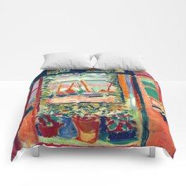 Henri Matisse Open Window at Collioure Comforters
