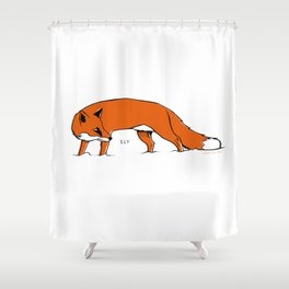 Sly Fox Shower Curtain