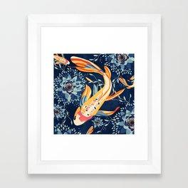 The Lotus Pond Framed Art Print