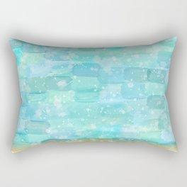 50 shades of Turquoise Rectangular Pillow