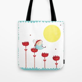 Flower Fairy Tote Bag