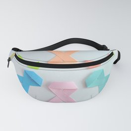 Cancer Ribbons Fanny Pack