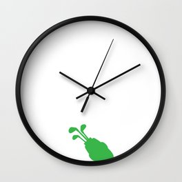 Golfer Love It When Wife Lets Me Play Golf Wall Clock