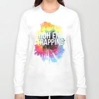 hippie Long Sleeve T-shirts featuring Hippie Love by STUDIO 85 LLC