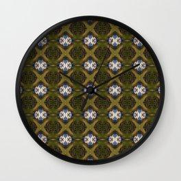 WovenGrasses Wall Clock