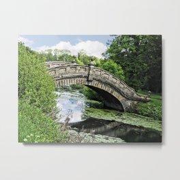 The Chinese Bridge Metal Print