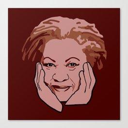 Toni Morrison Canvas Print